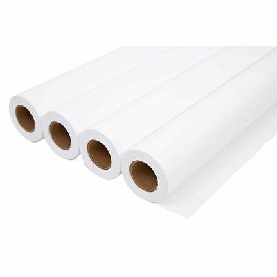 Staples Wide-format Cad Bond Paper 20lb 36 X 150 4 Rolls