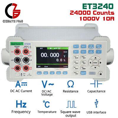 Original Benchtop Digit Multimeter Digital Multimeter Accuracy Et3240 Et3255