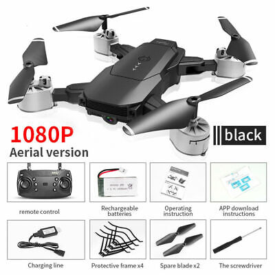 Foldable Drone 4K/1080P HD Camera Optical Spring Position WIFI FPV Quadcopters kid