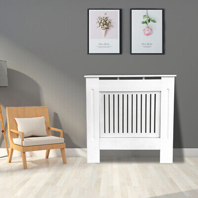 Radiator Cover Modern Traditional Wood Grill Cabinet Furniture Vertical Small