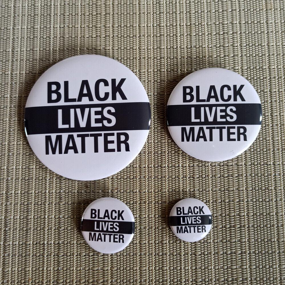 Black Lives Matter Button in versch. Größen (25mm bis 75mm)