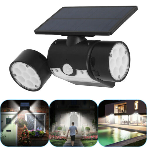 LED Garten Solarlampe Solarleuchten Wandleuchte Mit Bewegungsmelder Aussenlicht