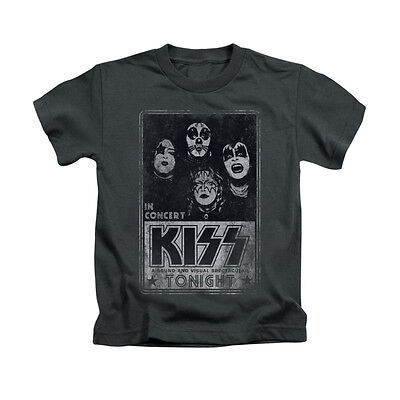 KISS LIVE Licensed Toddler & Boy Graphic Tee Shirt 2T 3T 4T 4 5-6 7