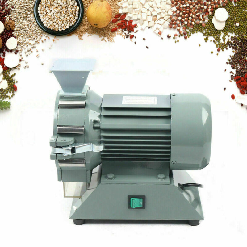 Micro Mill Plant Grinder Soil Crusher Pulverizer Grinding Machine 1400 rpm 110V