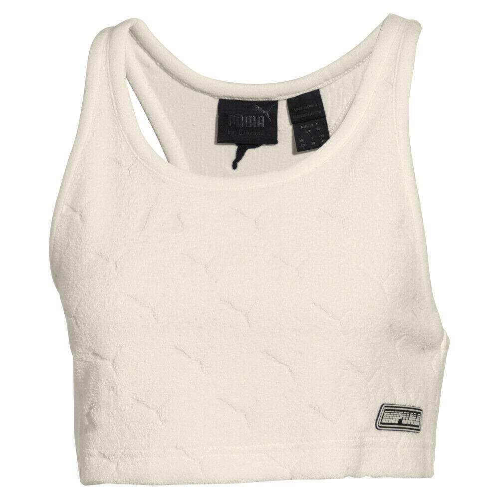 Puma x Fenty by Rihanna Tank Top Damen Sport Top Crop Terry Fitness Shirt 577448