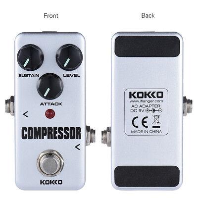 Kokko FCP2 Minikompressor Pedal Portable Gitarreneffektpedal M2Y8