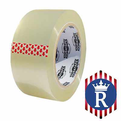 2 X 110 Yd Clear Carton Sealing Box Tape 2.3mil Ships Today