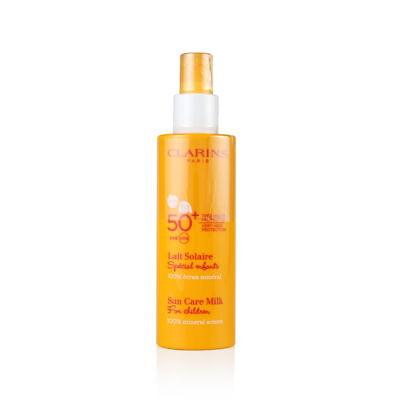 Clarins Sun Care Milk for Children SPF 50+ 150ml/5.3oz Brand New
