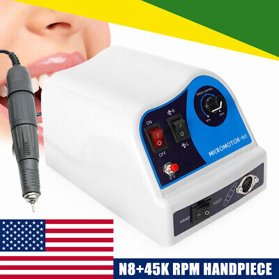 Dental Lab Marathon Electric Micromotor Polishing Machine 45000 Rpm Handpiece