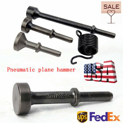 Smoothing Pneumatic Air Hammer Pneumatic Chisel Bit Set Oval Shape And Flat (Oval Shaped Heads)