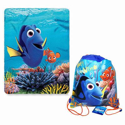 "Disney Finding Dory Nemo Fleece Throw & Blanket 45""x60"" NEW"