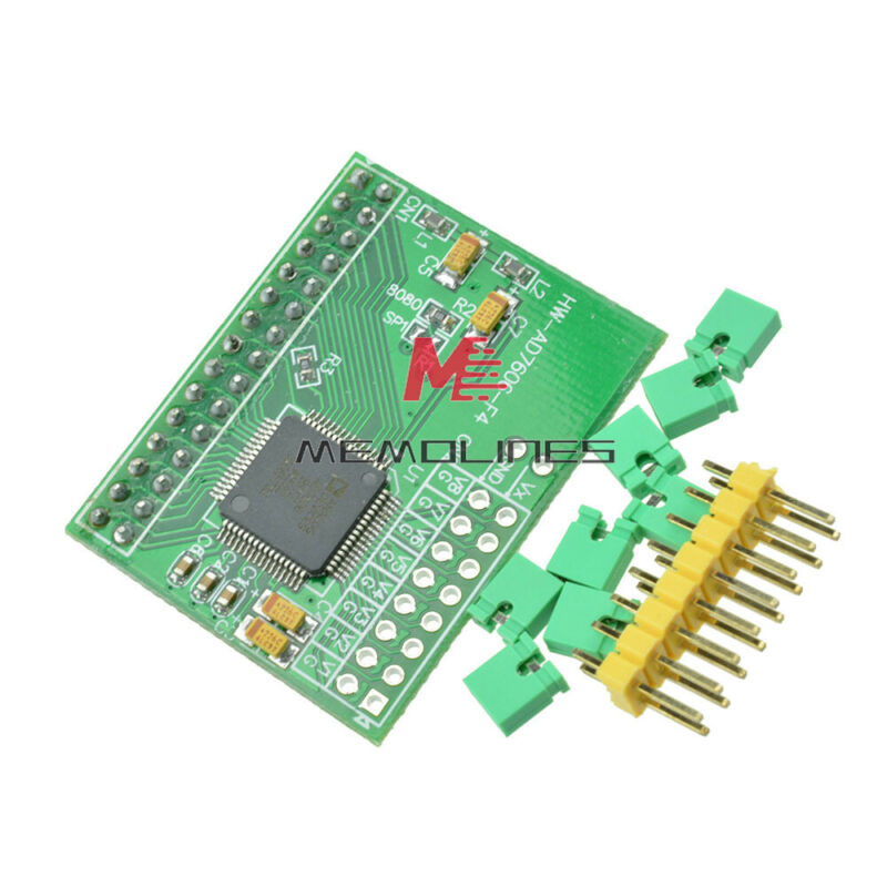 16bits Adc 8ch Synchronization Ad7606 Data Acquisition Expansion Board Module