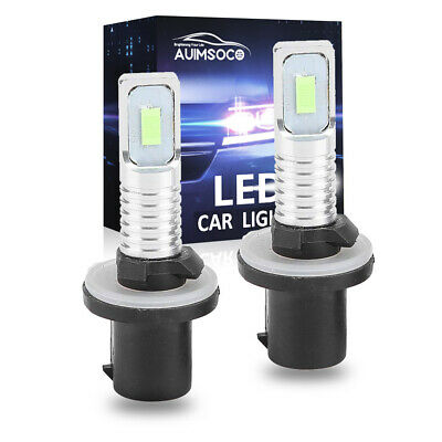 8000K 880 LED Fog Lights Driving lights Ice Blue For Chevrolet Impala 1995-2007