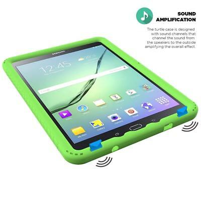 For Samsung Galaxy Tab A 9.7 Inch Tablet SM-T550 Silicone Cover Case Green for sale  Shipping to India