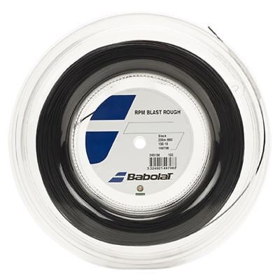 Babolat RPM Blast Rough 16 BLACK String Reel (Free Express Shipping), used for sale  USA