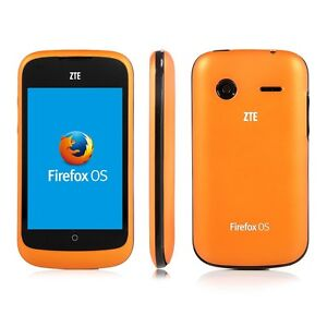 ZTE Open powered by Firefox OS - 3G unlocked smartphone orange - eBay exclusive!