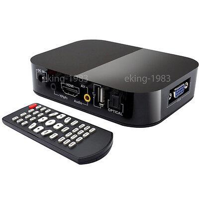 FULL HD 1080P Media Player TV BOX HDMI USB SD/MMC MKV 2TB multimedia Festplatte