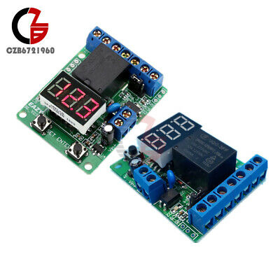 DC 12V/24V Voltage Control Delay Switch Upper and Lower Voltage Range Detection Low Voltage Detection