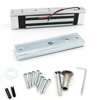 For Door Access Control Secure System 180kg Aluminumalloy Electric Magnetic Lock