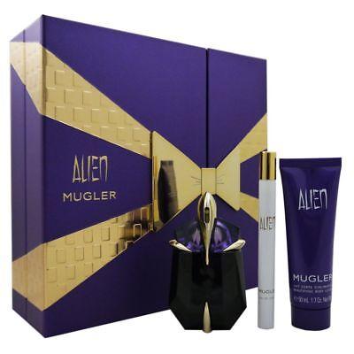 Thierry Mugler Alien Set 30 ml Eau de Parfum & 7 ml EDP Mini & 50 ml Bodylotion ()