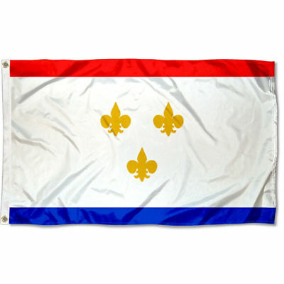 City of New Orleans Flag for Flagpole