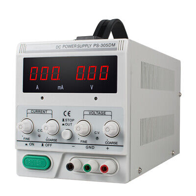 Ce Ps-305dm 30v5a Variable Linear Dc Power Supply 110v220v Switching For Lab
