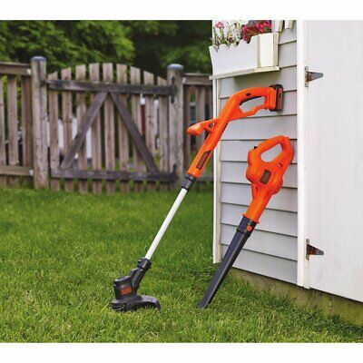 Best Battery Powered Weed Wacker Leaf Blower Combo String Trimmer Cordless (Best Cordless String Trimmer)