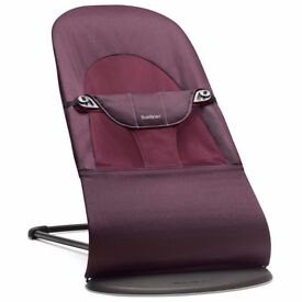 Baby bouncer seat (BabyBjorn Balance Soft) for sale. Great condition.