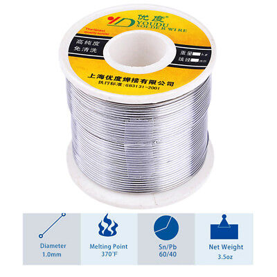 High Quality 1.0mm 250g Tin Lead Solder Wire Melt Rosin Core Soldering Wire Reel