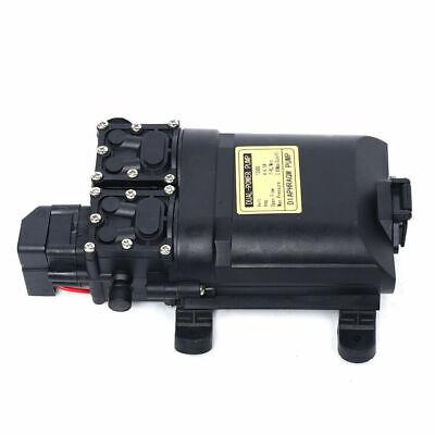 Dc 12v High Pressure Electric Diaphragm Water Pump Self Priming 123psi 7l-9lmin