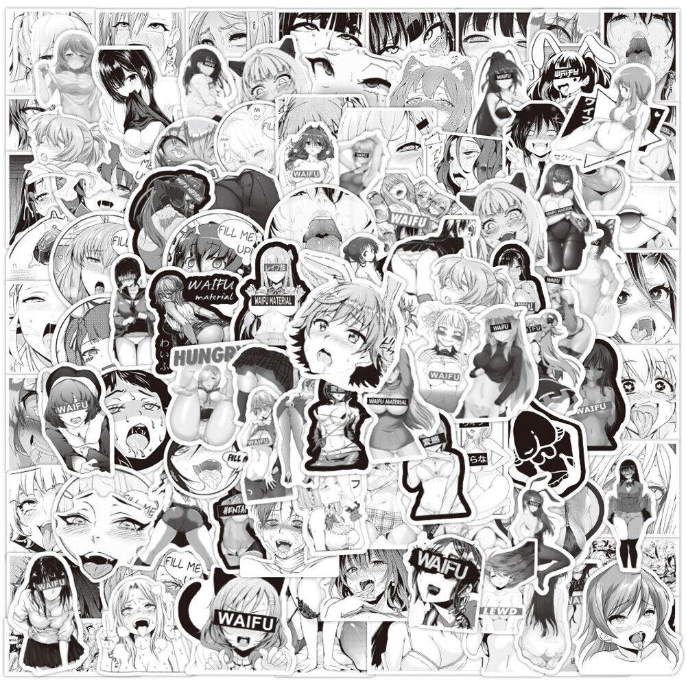 Lewd Vinyl Sticker *LARGE* Charlotte Dunois Adult 02 Infinite Stratos