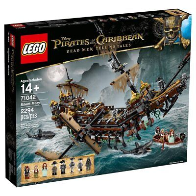 LEGO Pirates of The Caribbean Silent Mary - 71042 [Building Kit 2294 Pieces] (Caribbean Pirate Kit)