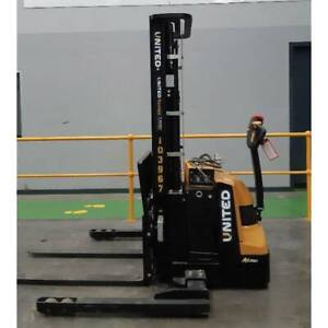 Used 1.2T United Walkie Stacker NSP12EAS Altona Hobsons Bay Area Preview