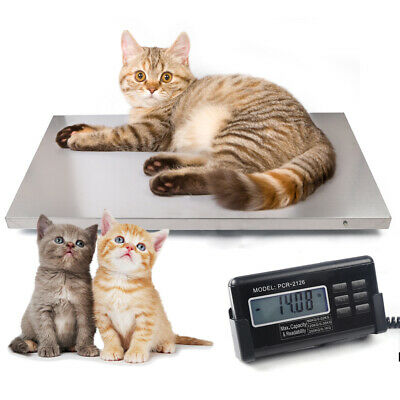 440lbs Multifunctional Digital Livestock Scale Large Pet Vet Scale Lcd Screen