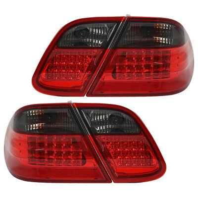 LED Rückleuchten Set für Mercedes CLK W208 Bj. 1997-2002 Rot/Smoke