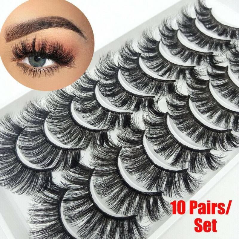 10 False Eyelashes Fluffy