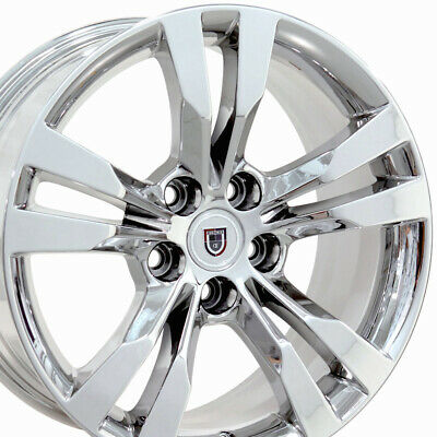 """CP Fits 18x8.5 Chrome CTS Wheels 18"""" Rims Cadillac Buick Chevy"""