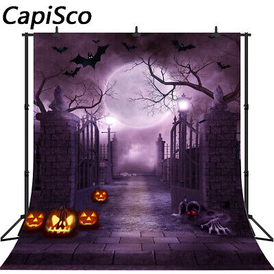 Photography Background Halloween Pumpkin Theme Backdrop Photo Studio Prop tp262](Halloween Pumpkin Background)