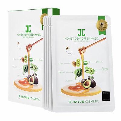 [JAYJUN] Honey Dew Green Mask pack New Zealand Manuka Honey 1Box (5pcs)