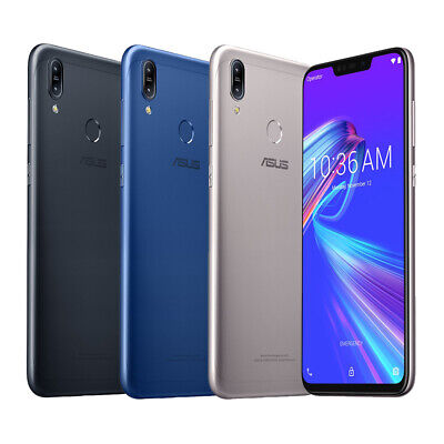 "ASUS ZenFone Max M2 (ZB633KL) 4GB / 64GB 6.3"" Factory Unlocked Dual SIM By USPS"