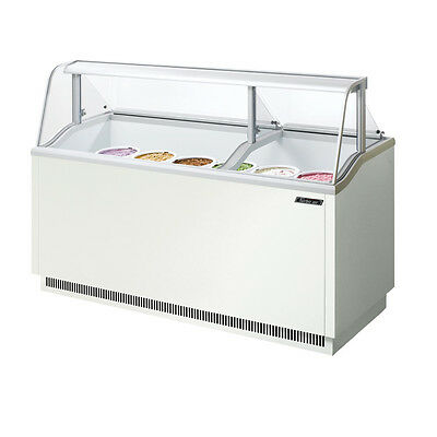 Turbo Air Tidc-70w 70-inch Ice Cream Dipping Cabinet White