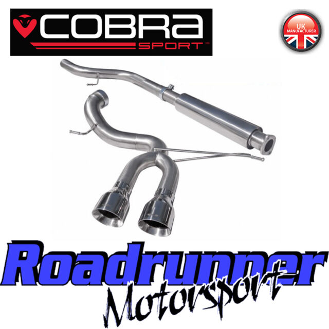 "Cobra Sport Focus ST Exhaust MK3 ST250 3"" VENOM System Cat Back - VERY LOUD FD49"