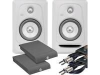 Pair of KRK R5 G3 studio monitors