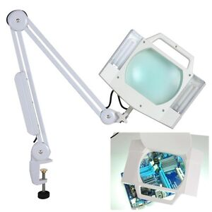magnifying desk lamp ebay. Black Bedroom Furniture Sets. Home Design Ideas