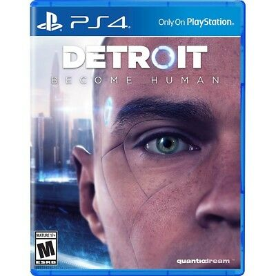 Detroit  Become Human   Sony Playstation 4 Ps4   Brand New   Get On Release Day