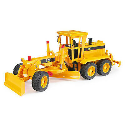 Bruder Toys 1:16 Scale Model Construction Vehicle Caterpillar Motor Grader 02437
