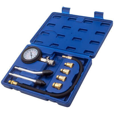 8 Stk Auto Benzin Zylinder Kompressor Druck Tester Manometer Test Set ✅