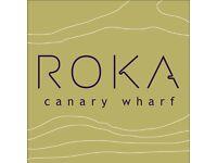 ROKA - Restaurant Receptionist