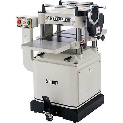 Steelex St1007 15  Planer W Mobile Base   Cast Iron Wings
