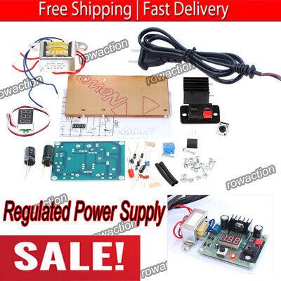 Adjustable Regulated Voltage Power Supply Diy Module Kit Lm317 1.25v-12v E7b2